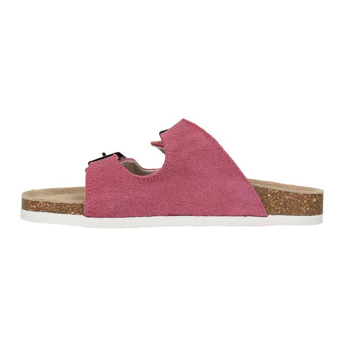 Children's pink slippers de-fonseca, pink , 373-5600 - 26
