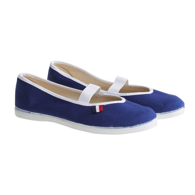 Kids' gym shoes bata, blue , 479-9100 - 26