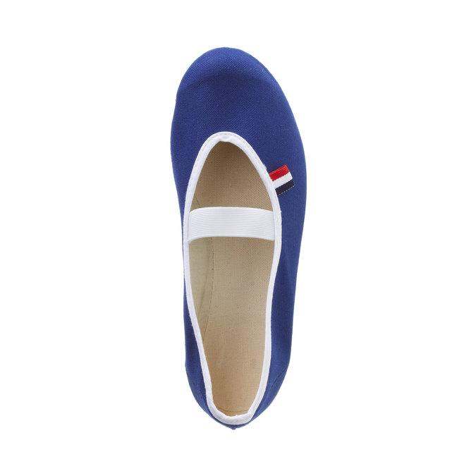 Kids' gym shoes bata, blue , 479-9100 - 19