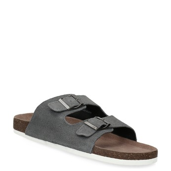 Men's slippers de-fonseca, gray , 873-2610 - 13