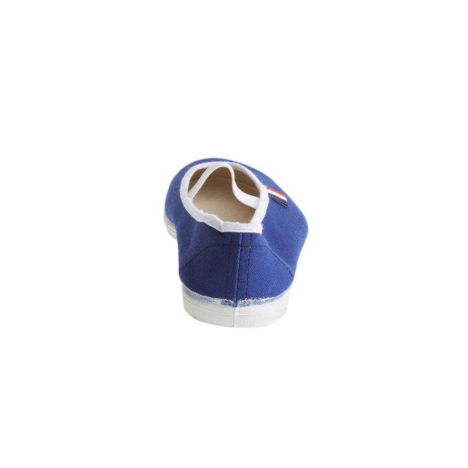 Kids' gym shoes bata, blue , 379-9100 - 17