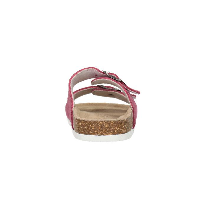 Children's pink slippers de-fonseca, pink , 373-5600 - 17