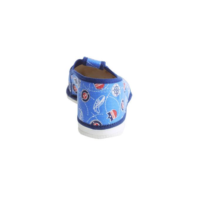 Children's slippers bata, blue , 279-9011 - 17