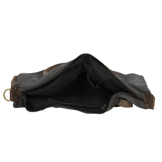 Big bag with strap weinbrenner, gray , 969-2620 - 15