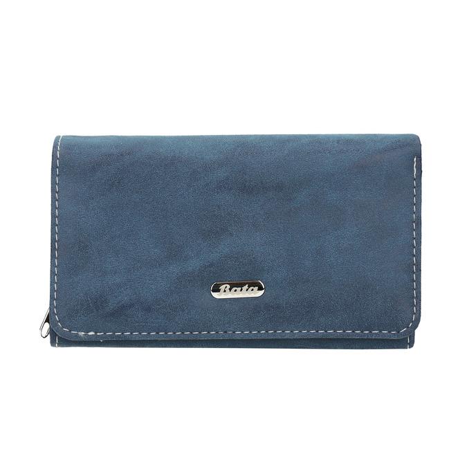 Ladies' blue purse bata, blue , 941-9153 - 26