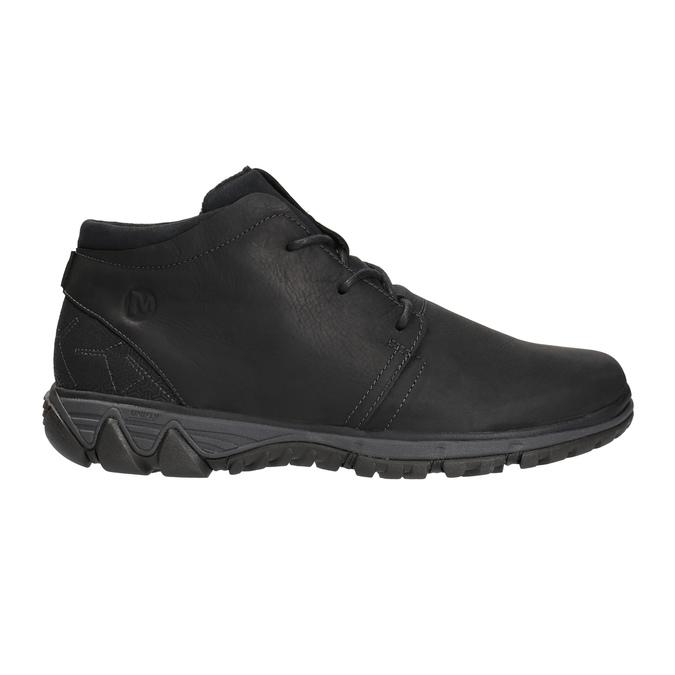 Men's leather sneakers merrell, black , 806-6836 - 15