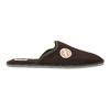 Men's slippers with full toe bata, brown , 879-4609 - 15