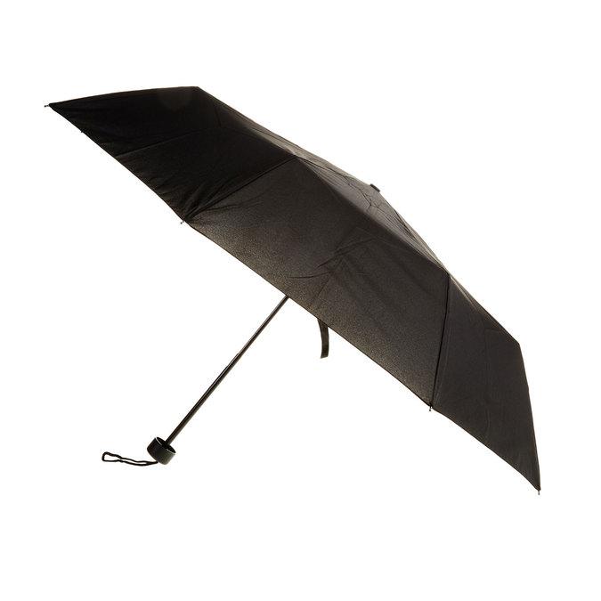 Black telescopic umbrella bata, black , 909-6600 - 13