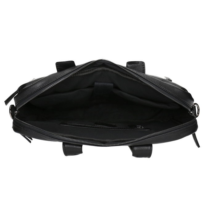 Black bag bata, black , 961-6521 - 15
