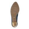 Ladies´ leather pumps bata, blue , 626-9639 - 26