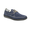 Casual leather shoes bata, blue , 853-9612 - 13