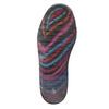 Children's wellington boots with stripes mini-b, black , 492-6112 - 26