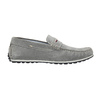 Men's brushed leather moccasins bata, gray , 853-2614 - 15