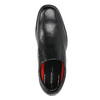Men's leather shoes rockport, black , 824-6117 - 19