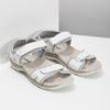 Ladies' leather sandals weinbrenner, white , 566-1608 - 26