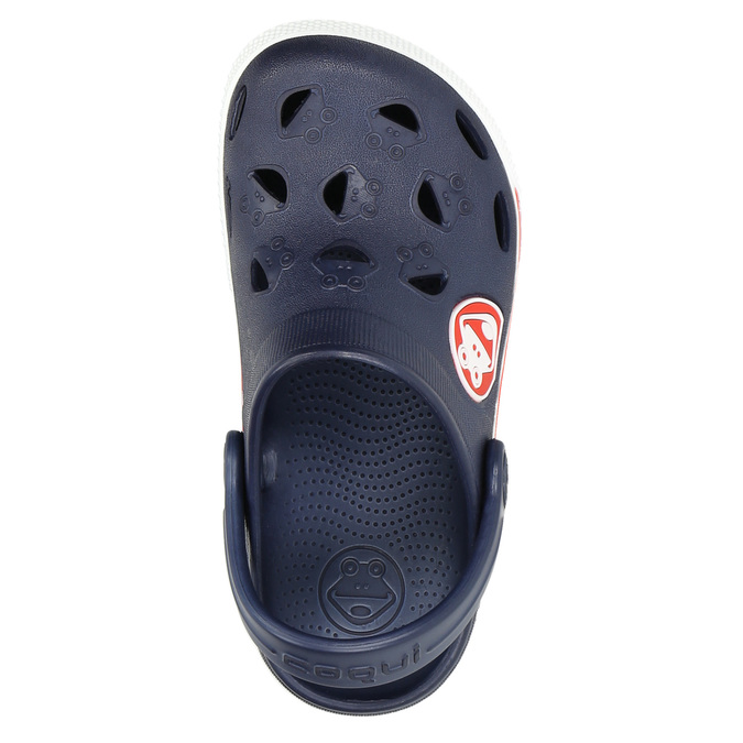 Children's blue sandals coqui, blue , 272-9603 - 26