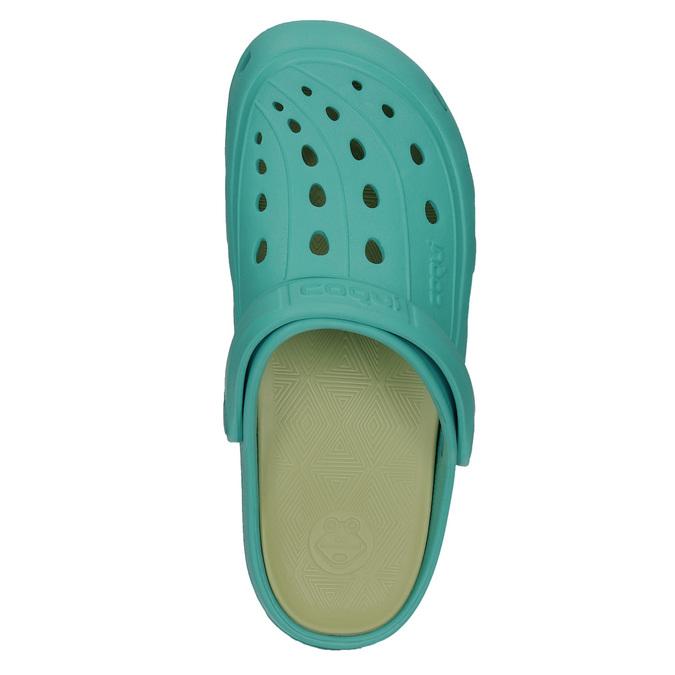 Ladies' turquoise sandals coqui, blue , turquoise, 572-9606 - 26