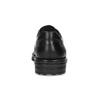 Black leather shoes fluchos, black , 824-6451 - 15