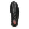 Black leather shoes fluchos, black , 824-6451 - 17