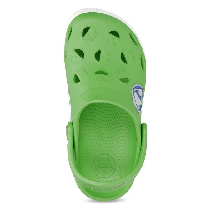 Children's green sandals coqui, green, 272-7603 - 17