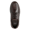 Men's casual shoes with stitching comfit, brown , 824-4987 - 26