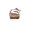 Ladies' leather sandals de-fonseca, pink , 573-5621 - 15