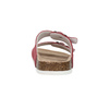 Ladies' leather sandals de-fonseca, red , 573-4621 - 17