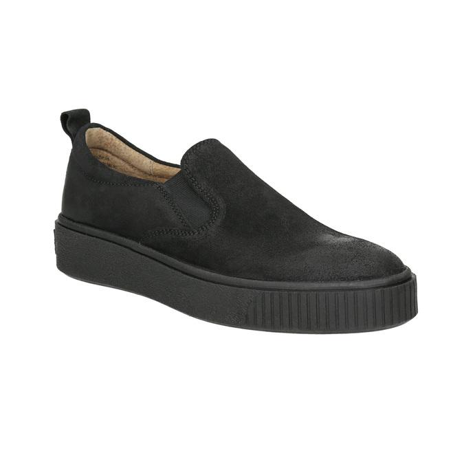 Ladies' Slip-on shoes bata, black , 516-6613 - 13