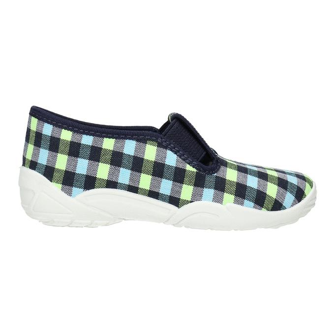 Kids' slippers mini-b, blue , multicolor, 379-0213 - 15
