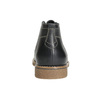 Men's ankle boots with stitching bata, black , 826-6614 - 17