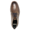 Men's leather ankle boots bata, brown , 826-4614 - 19
