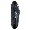 Casual leather shoes blue bata, blue , 826-9681 - 26