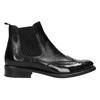 Ladies' Chelsea style leather boots bata, black , 594-6638 - 15