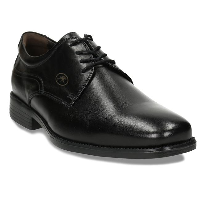Men's Leather Derby Shoes fluchos, black , 824-6440 - 13