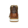 Men's leather ankle boots bata, brown , 846-3645 - 15