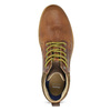 Men's leather ankle boots bata, brown , 846-3645 - 17