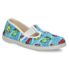 Children's Slippers with Cars bata, blue , 279-9105 - 13