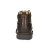 Men's leather ankle boots bata, brown , 846-4645 - 15