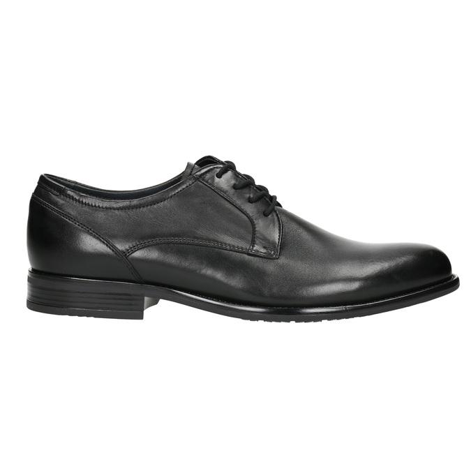 Men's Derby shoes bata, black , 824-6618 - 15