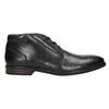 Men's leather ankle boots bata, black , 824-6913 - 15