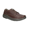 Leather Lace-Ups with Stitching clarks, brown , 826-4024 - 13