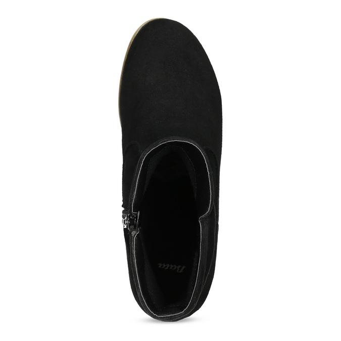Ladies' ankle boots bata, black , 599-6614 - 17