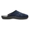 Ladies' Blue Slippers bata, blue , 579-9621 - 19