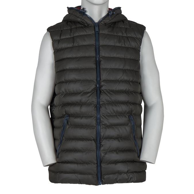 Men's Quilted Vest bata, green, 979-7116 - 13
