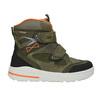Children's Leather Winter Boots weinbrenner-junior, green, 493-7612 - 26
