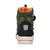 Children's Leather Winter Boots weinbrenner-junior, green, 493-7612 - 16