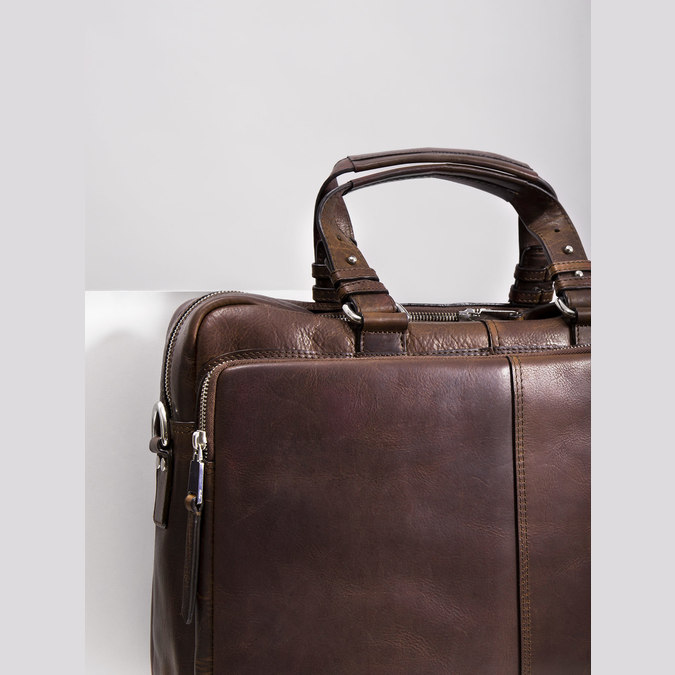 The Seymur Briefcase Bag bata, brown , 964-4106 - 14