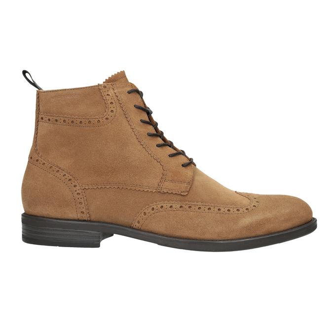 Men's Leather Ankle Boots vagabond, brown , 823-3016 - 26