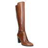 Leather High Boots with Stitching bata, brown , 794-4356 - 13