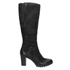 Women's high boots bata, black , 796-6601 - 15